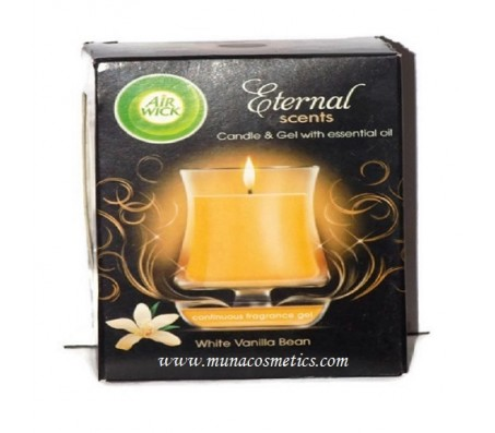 Eternal Scents Candle & Gel | White Vanilla Bean