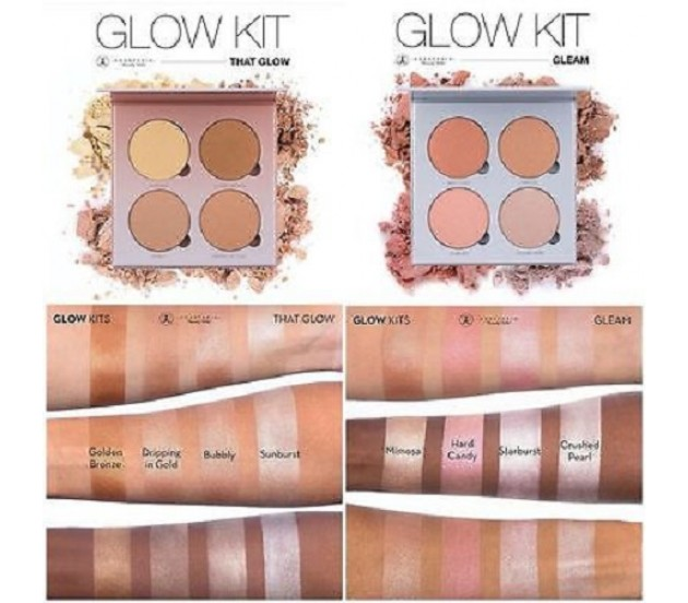anastasia beverly hills glow kit gleam that glow brand new. Black Bedroom Furniture Sets. Home Design Ideas