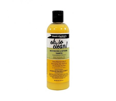 Aunt Jackie's Oh So Clean Moisturizing & Softening Shampoo - 12oz
