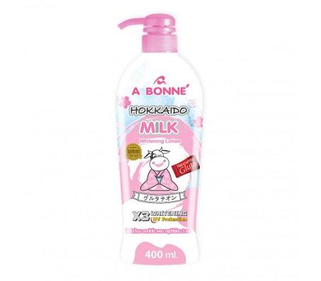 A Bonne Hokkaido Milk Whitening Body Lotion - 400ml