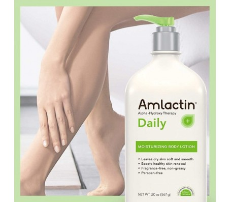 AmLactin Alpha-Hydroxy Therapy Daily Moisturizing Lotion 567g
