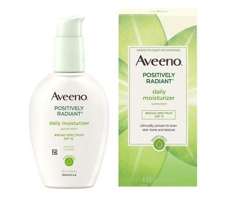 Aveeno Positively Radiant Daily Moisturizer 120ml