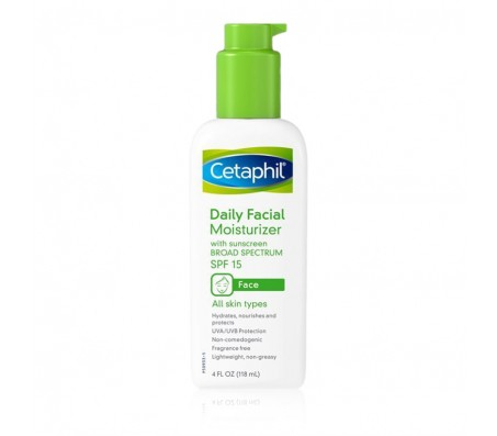 Cetaphil Daily Facial Moisturizer SPF 15 - 118ml