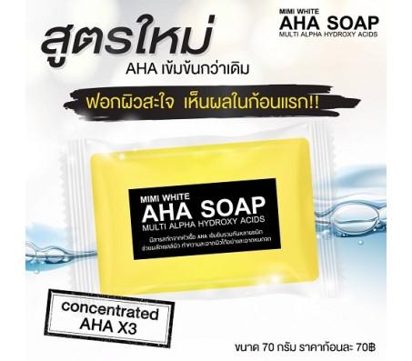 Mimi White AHA Soap - 70g