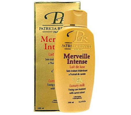 Patricia Reynier Luxury Toning Milk With Carrot Extract - 500ml