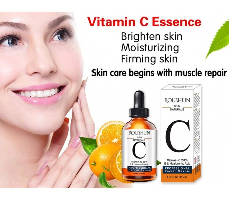 Roushun Skin Naturals Vitamin C Facial Serum 30ml