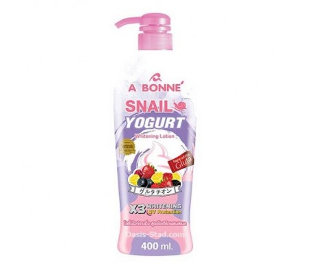 Abonne Snail Yogurt Whitening Lotion - 400ml