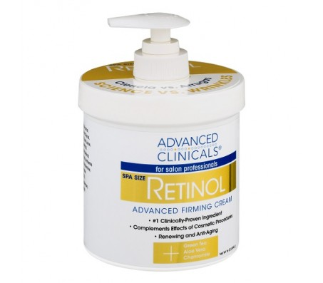 Advanced Clinicals Retinol Advanced Firming Cream - 454g