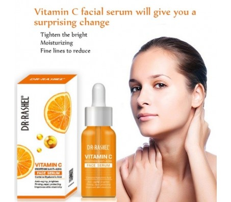 Dr Rashel Vitamin C Brightening And Anti Aging Face Serum 50ml