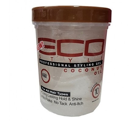 ECO Style Professional Styling Gel, Coconut Oil, Max Hold 32 oz