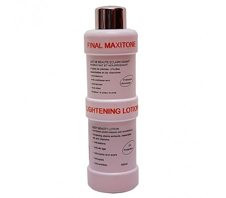 Final White Maxitone Lightening Lotion - 500ml