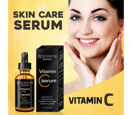 Roushun Skincare Vitamin C Serum - 30ml