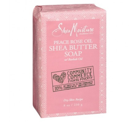 Sheamoisture Peace Rose Oil Soap - 230g
