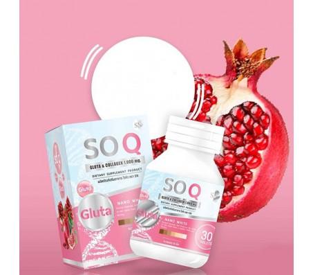 SoQ Gluta & Collagen 1000mg