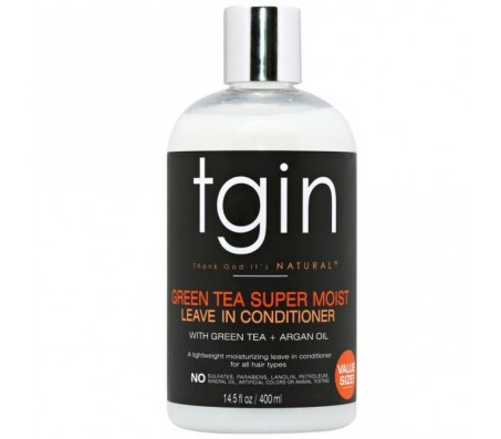 Tgin Green Tea Super Moist Leave In Conditioner - 13oz