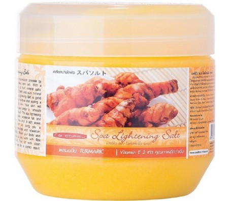 Carebeau Ligtening Spa Salt - Turmeric 700g