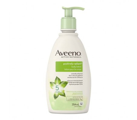 Aveeno Positively Radiant Moisturizing Body Lotion 354ml
