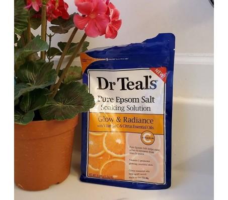 Dr Teals Glow & Radiance w/t Vitamin C & Citrus Epsom Salt