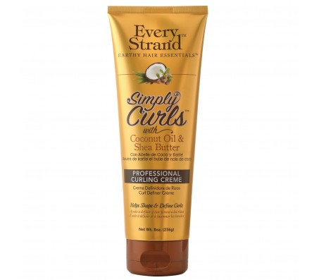 Every Strand Simply Curls With Coconut Oil & Shea Butter - 236g