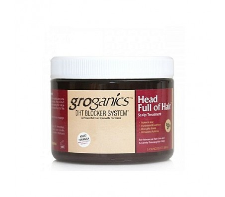 Groganics Head Full Of Hair - 6oz