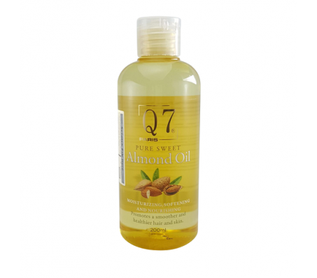 Q7 Pure Sweet Almond Oil 200ml