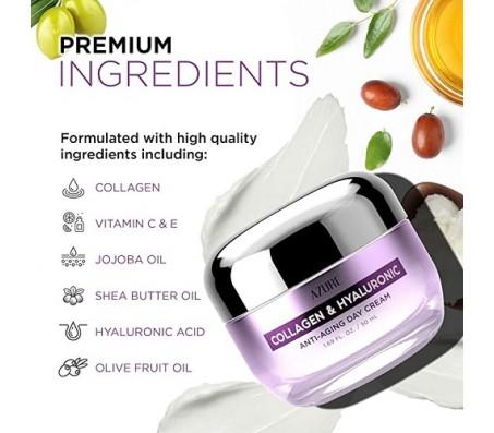 Azure Collagen & Hyaluronic Anti-Aging Day Cream 50ml