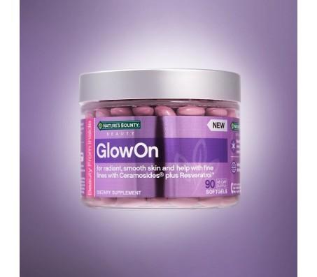 Nature Bounty GlowOn Dietary Supplement 90 Softgels