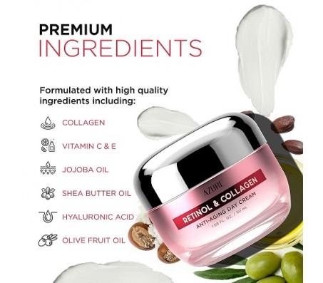 Azure Retinol & Collagen Anti-Aging Day Cream 50ml