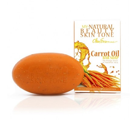 Clear Essence My Natural Beauty Skin Tone Carrot Oil Soap