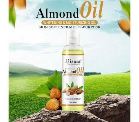 Disaar Whitening & Moisturizing Almond Oil 100ml