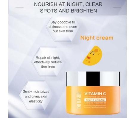 Dr Rashel Vitamin C Niacinamide Night Cream 50g