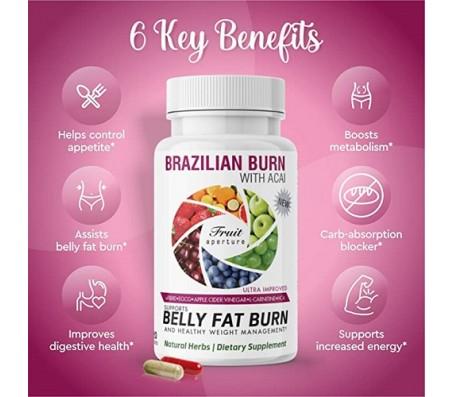 Brazilian Burn Belly Fat Burn 120 Capsules