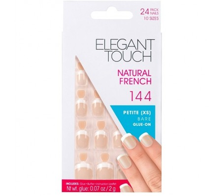 Elegant Touch Natural French 144 - 24 Nails