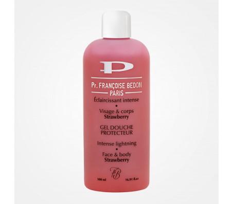 Francoise Bedon Strawberry Face & Body Shower Gel Protector 500ml