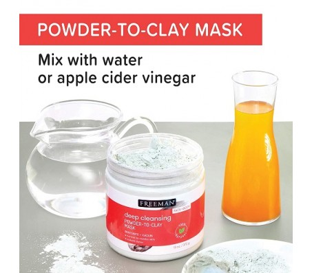 Freeman Deep Cleansing Powder to Clear Mask - 370g