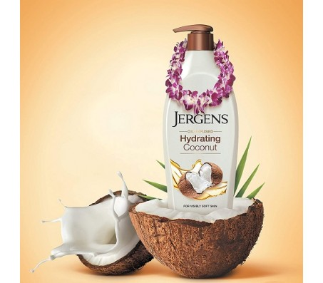 Jergens Hydrating Coconut Body Lotion 600ml