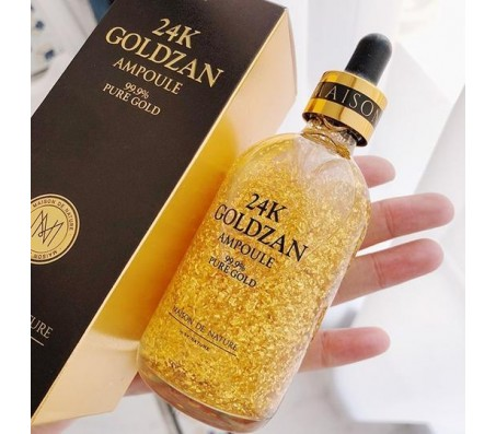 Goldzan 24k Gold Facial Serum 100ml