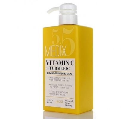 Medix 5.5 Vitamin C & Turmeric Firming & Brightening Cream 444ml