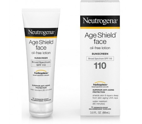 Neutrogena Age Shield Face Oil-Free Lotion Sunscreen Broad Spectrum SPF 110 88ml