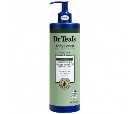 Dr Teals Relaxing Hemp Seed Oil Body Lotion 18oz