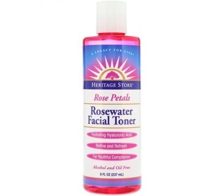 Heritage Store Rose Petals Rosewater Facial Toner 237ml