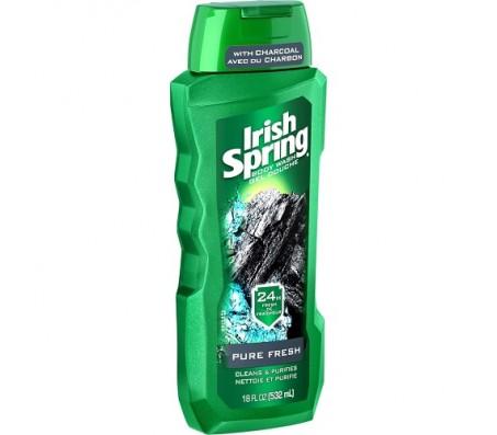Irish Spring Pure Fresh Body Wash 532ml