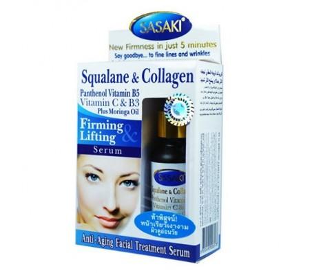 Sasaki Squalane & Collagen Firming Lift Serum 15ml