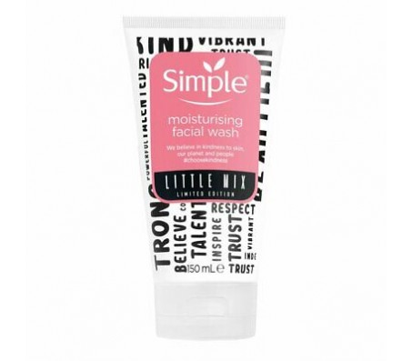 Simple Little Mix Moisturising Facial Wash 150ml