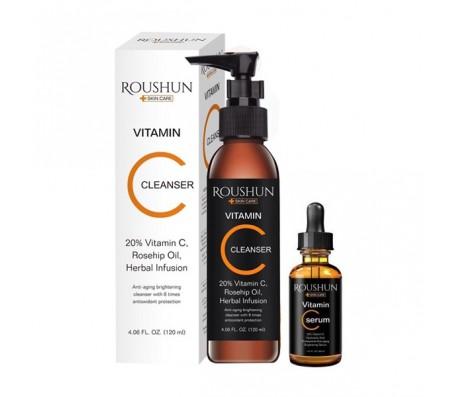 Roushun Vitamin C Cleanser & Serum