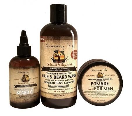 Sunny Isle Beard Care Collection
