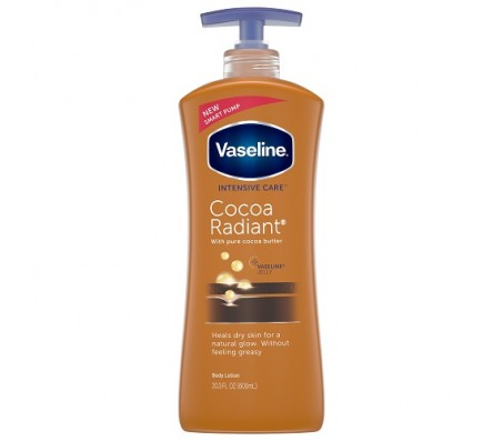 Vaseline Intensive Care Cocoa Radiant Body Lotion 600ml