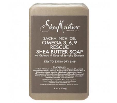 Sheamoisture Sacha Inchi Oil Omega-3-6-9 Rescue Butter Soap - 230g