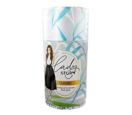 Lady Storm Deodorant Body Spray - Gentle 250ml