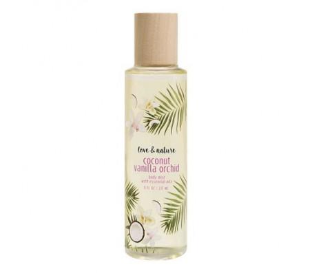 Love & Nature Coconut Vanilla Orchid Body Mist 237ml